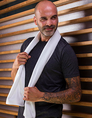 Novedades Towels by Jassz Toalla deporte Danube 30x140