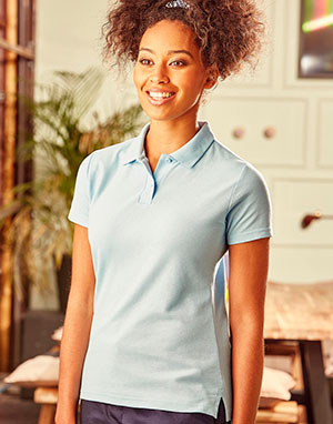 Polos Russell Europe Polo piqué 65/35 mujer