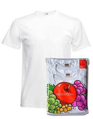 Ropa interior Fruit of the Loom Camiseta Underwear hombre